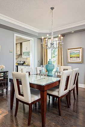 Lancaster Homes Advantage Dining Room